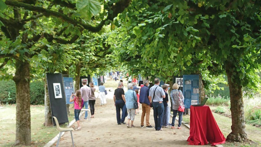 Une vue de l'exposition promenade